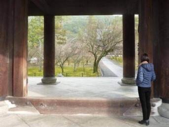 講師近影-南禅寺にて